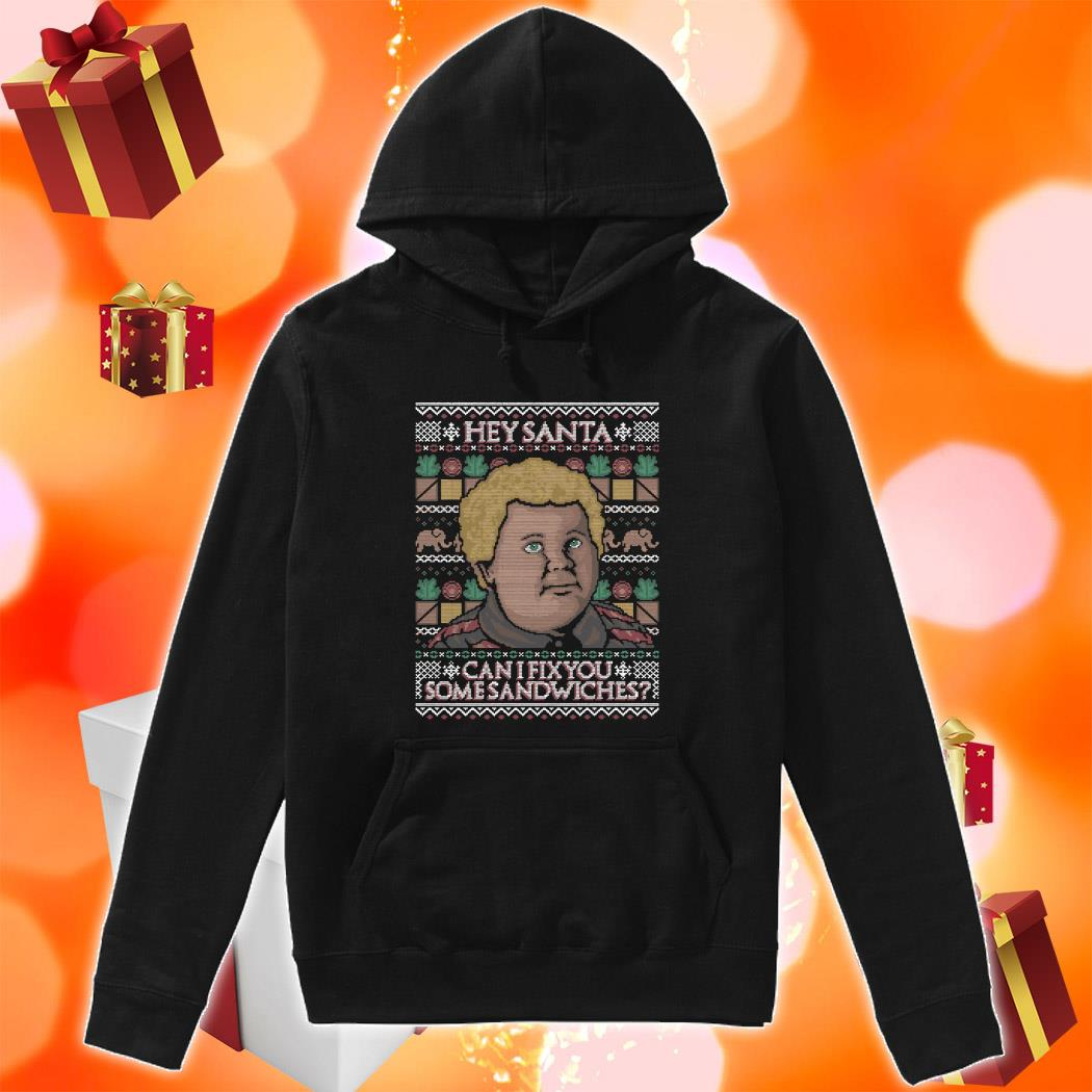 Thurman Merman Hey Santa can I fix you some sandwiches hoodie