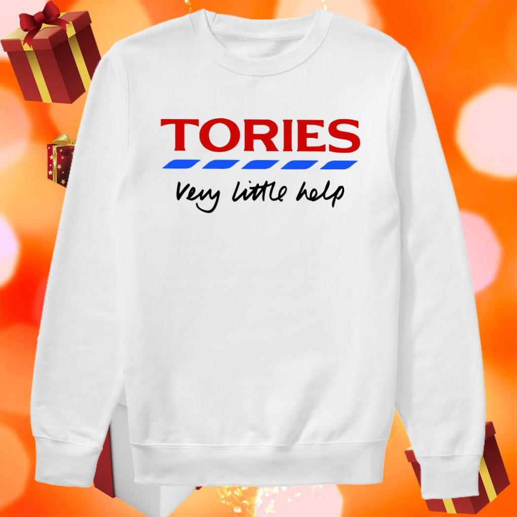 Tories very little help sweater