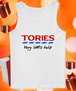 Tories very little help tank top