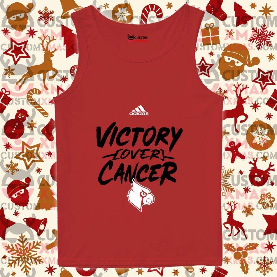 Victory Over Cancer Louisville Cardinals tank top