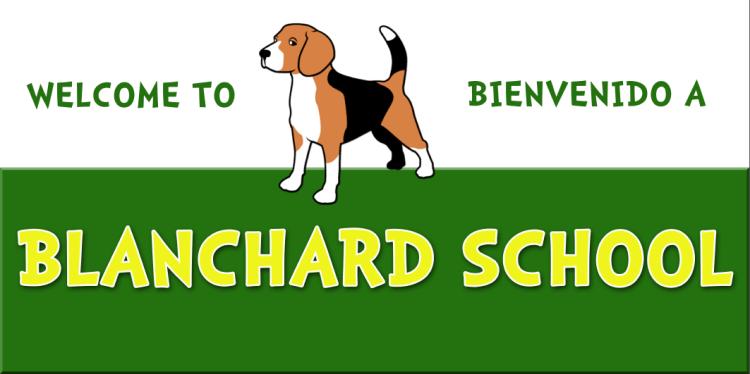 banner for blanchard school
