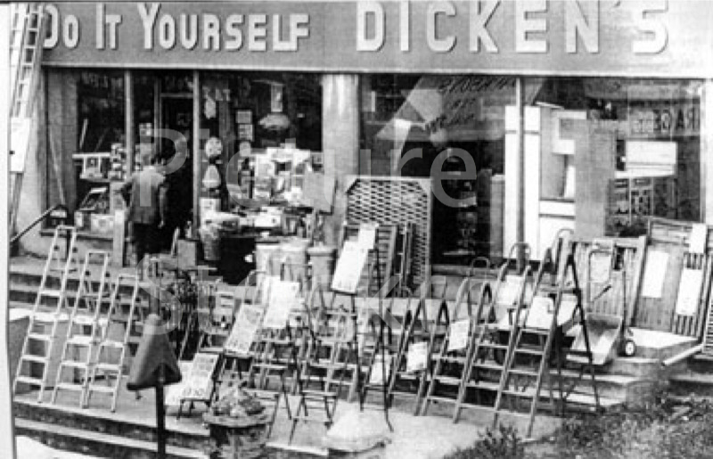 Dickens do it yourself store picture stockton archive do it yourself shop in stockton photograph courtesy of mr robert bob dickens solutioingenieria Image collections