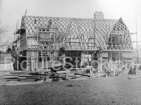 Dutch Barn Houses c1945   Picture Stockton Archive