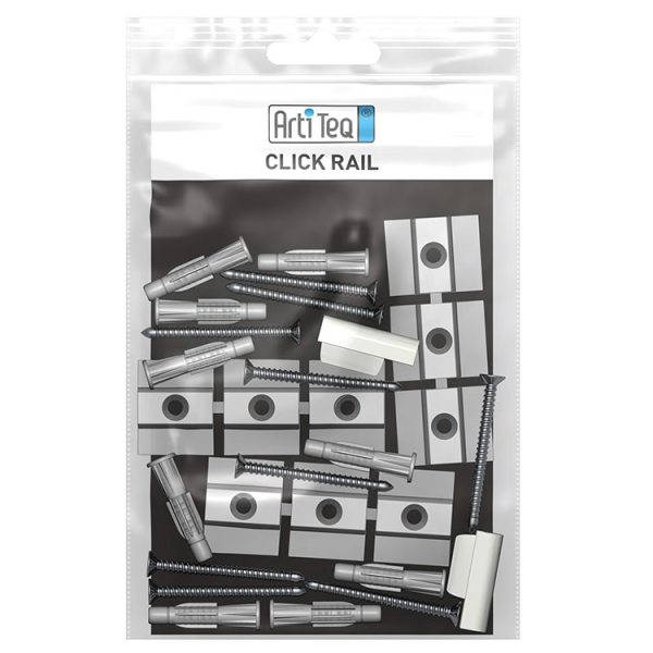 artiteq installation kit click rail