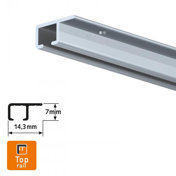 Artiteq Top Rail Aluminium Picture Hanging System
