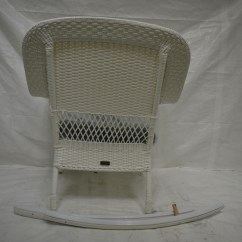 All Weather Rocking Chairs Stylish Desk Charlottetown White Wicker Patio Chair