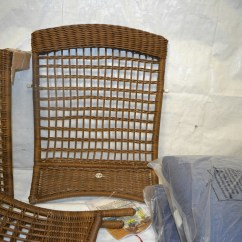 Hampton Bay Patio Chairs Banquet Chair Covers For Less Than $1 Spring Haven Brown All Weather Wicker