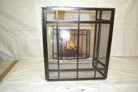 Pleasant Hearth Mission Style 3 Panel Fireplace Screen | eBay