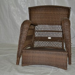 Martha Stewart Patio Chairs Double Reclining Chair Living Charlottetown Natural All Weather