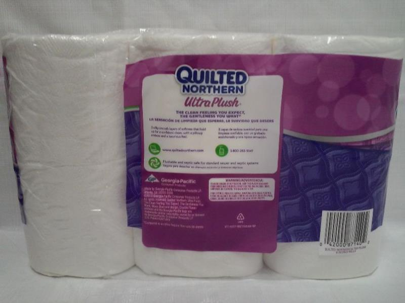 Quilted Northern Ultra Plush Bath Tissue, 42 Double Rolls