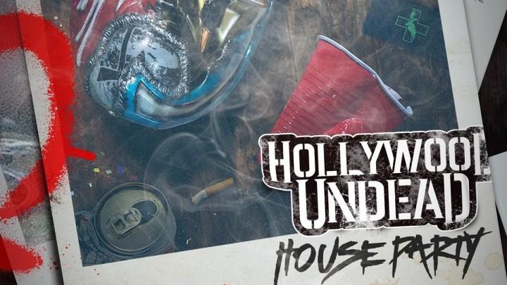Hollywood Undead, la fête à la maison