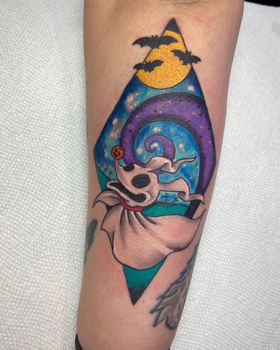Nightmare Before Christmas Zero Tattoo : nightmare, before, christmas, tattoo, UPDATED:, Nightmare, Before, Christmas, Tattoos, (November, 2020)