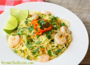 angel hair pasta with shrimp red