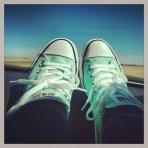 Roadtrip shoes - somewhere outside of Edmonton...