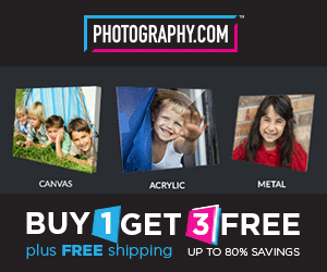 Buy 1 Get 3 FREE - Photography.com 300x250