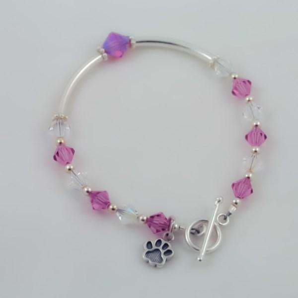 LuBella Jewelry Dog Paw Bracelet