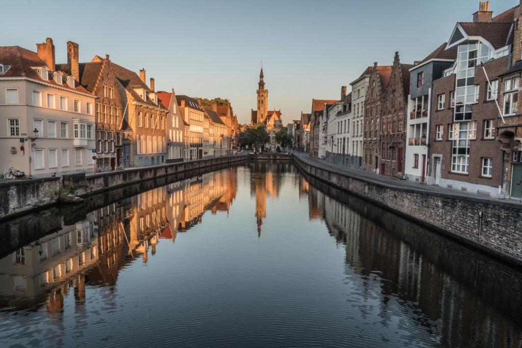 The canals of Bruges