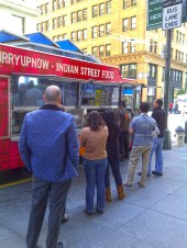 The Curry Upnow food-stand in San Francisco's Financial District.