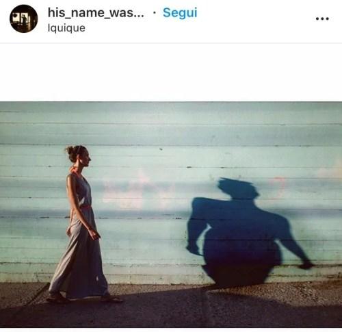 Fotografia ombre donna a colori