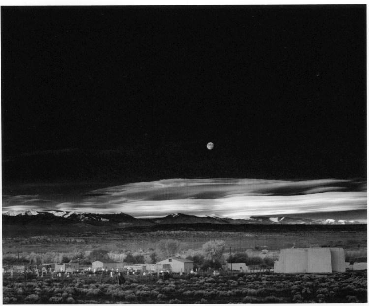 Fotografi famosi - Ansel Adams - Moonrise Hernandez