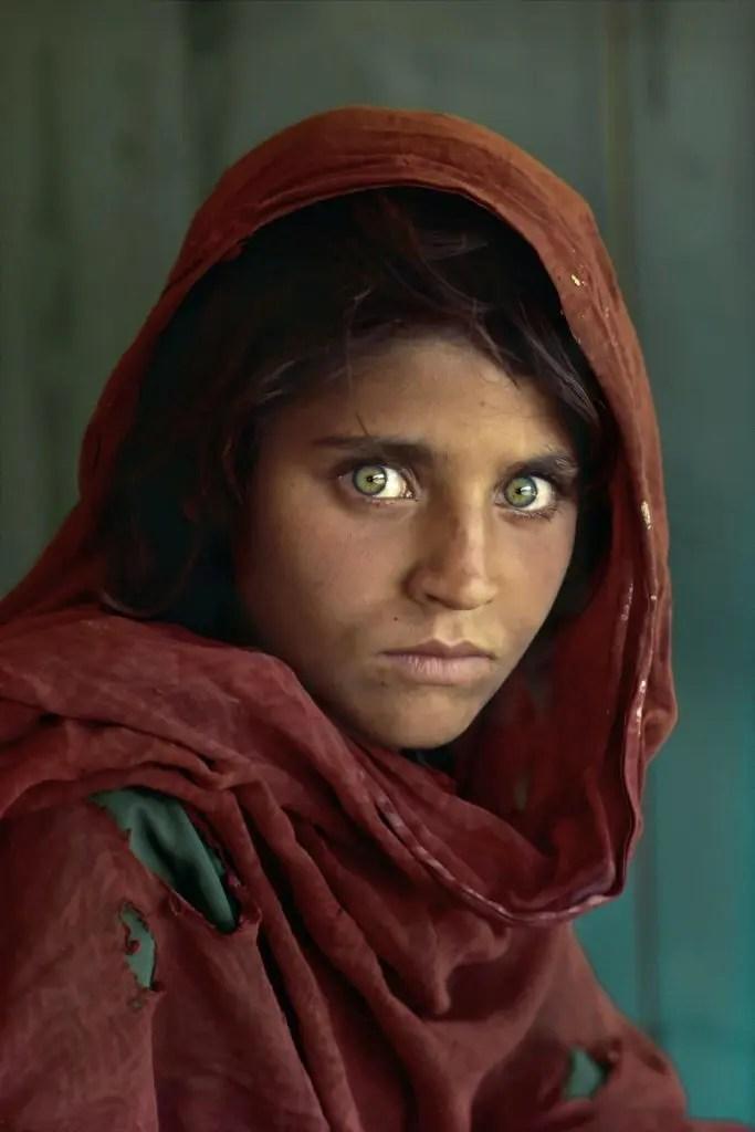 Steve McCurry - ragazza afgana