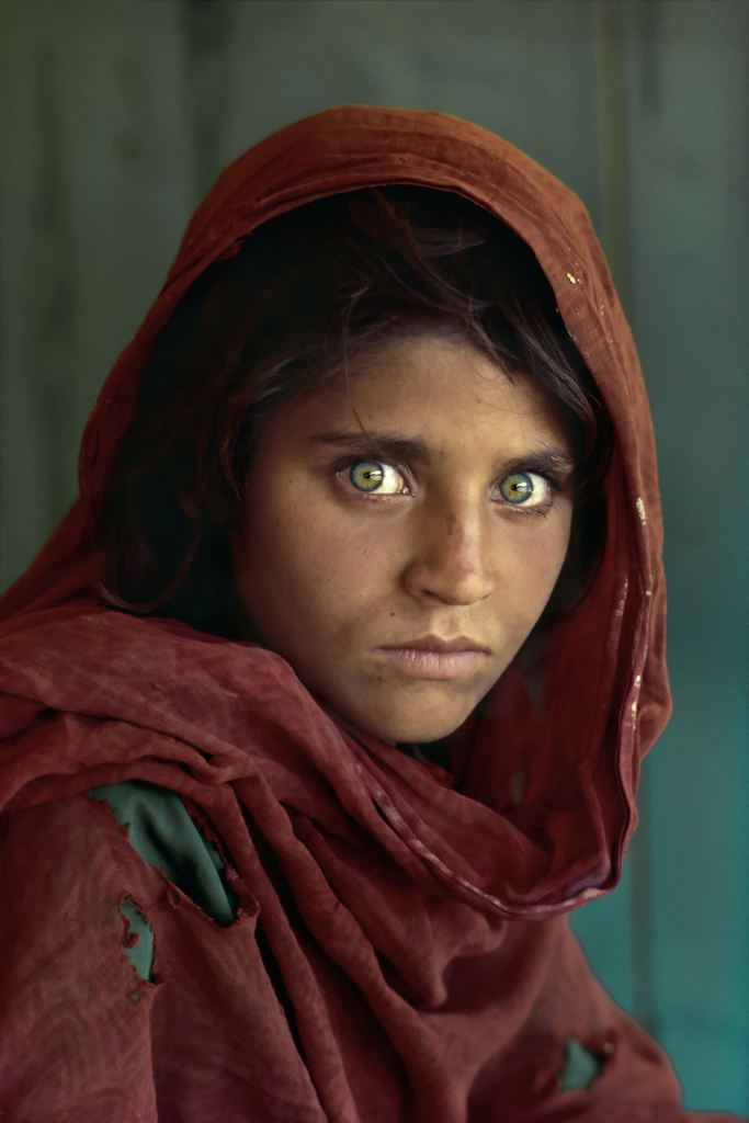 Steve McCurry - ragazza afgana
