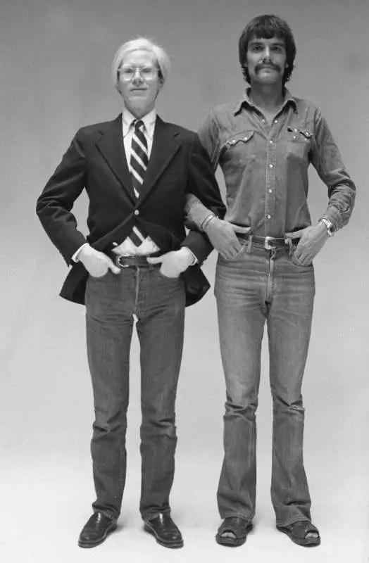 Oliviero Toscani e Andy Warhol