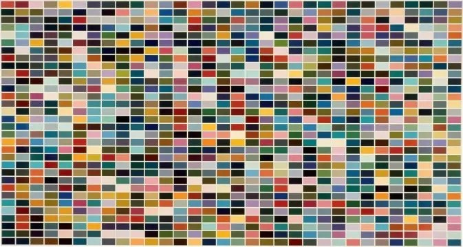 Gerhard Richter 1024 colors, 1979