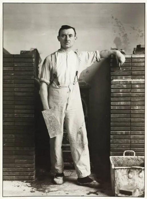 August Sander Master Mason 1926