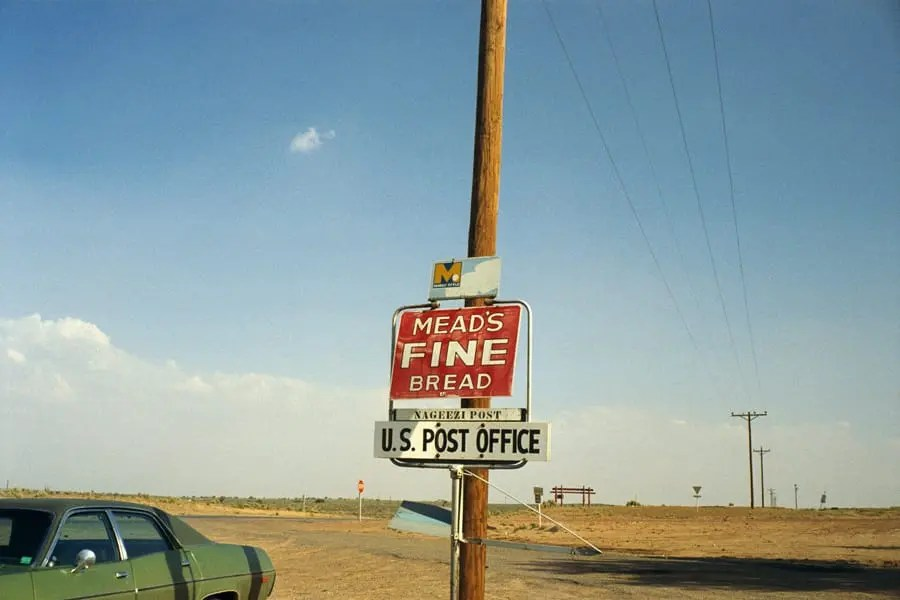 Pueblo Bonito, New Mexico, June 1972 © Stephen Shore