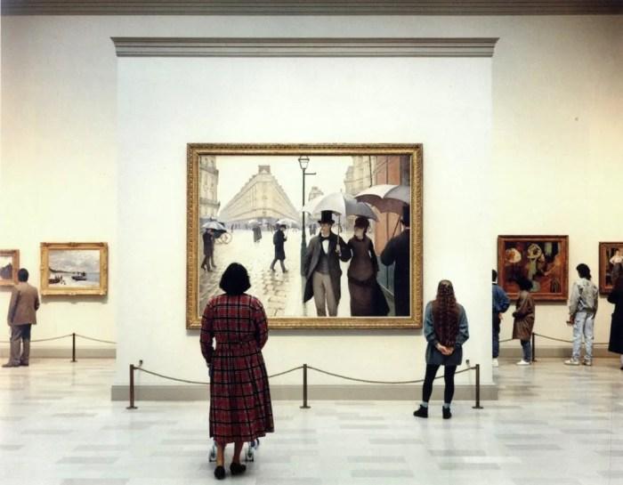 Thomas Struth, Art Institute of Chicago II, Chicago, 1990.