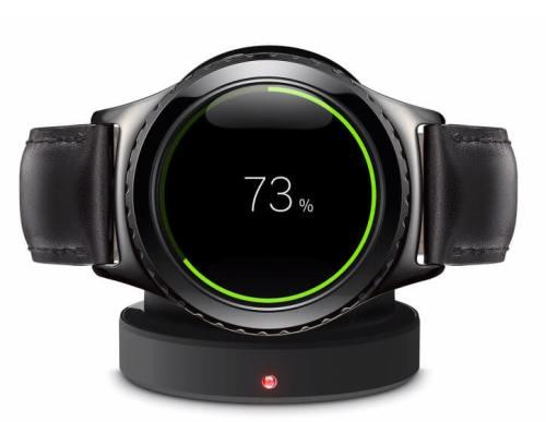 Samsung Gear S2 - ワイヤレス充電