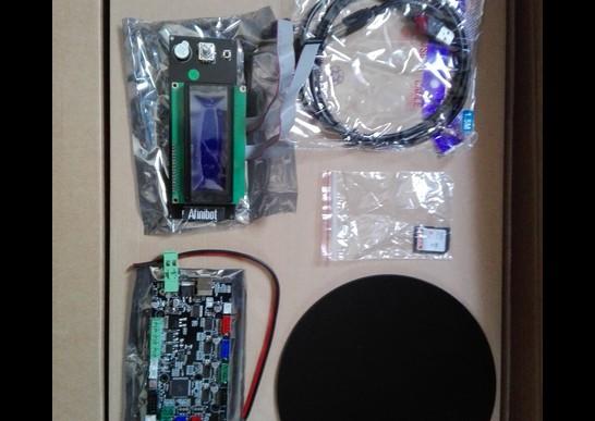 デルタ型 3D プリンター KOSSEL(中華製) - コントロールボードと液晶ユニット(他)