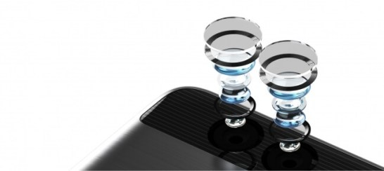 ダブルレンズカメラ - ライカと共同開発