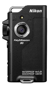 KeyMission 80 ブラック - Nikon