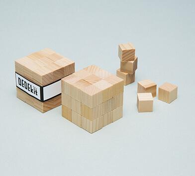 3x3x3立方体が2個作れて、プレゼント用の帯もついてくる