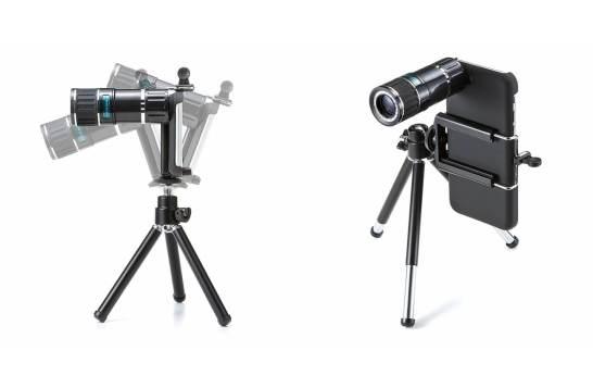 光学12倍の望遠撮影 - iPhone 7専用望遠レンズキット
