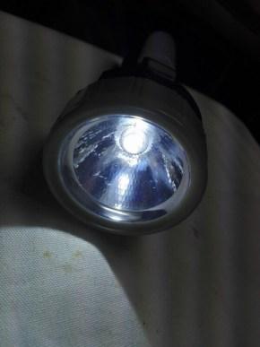 百均の LED ライト