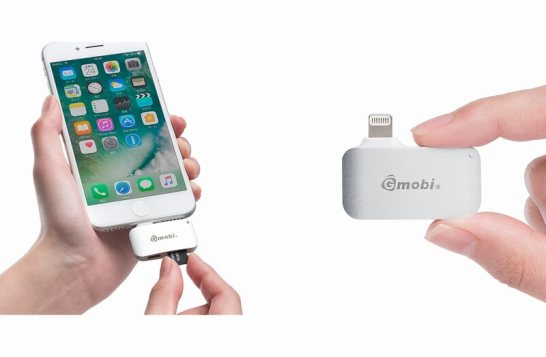 iPhone・iPad対応microSDカードリーダー(Lightning・充電対応・MFi認証・シルバー)