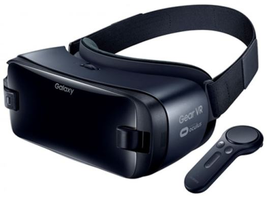 <Galaxy Gear VR with Controller>