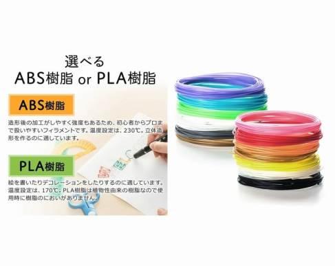 3Dペンや3Dプリンタで使用できる汎用フィラメントを発売開始 - サンワサプライ