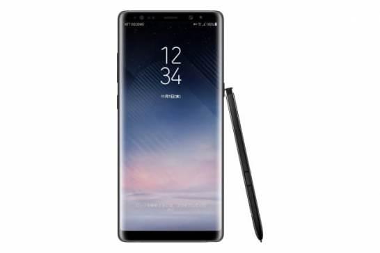 Galaxy Note8(ミッドナイトブラック)