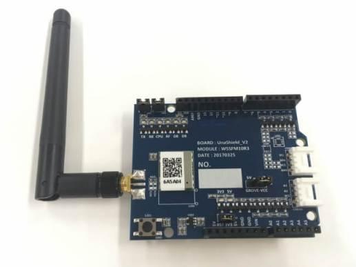 Sigfox Shield for Arduino