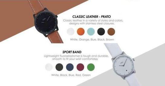 アナログタイプ・スマートウォッチ「mim watch」