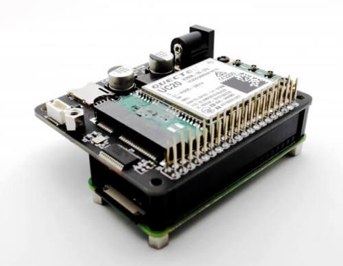 3G/LTE通信ボード「CANDY Pi Lite」が「Raspberry Pi Zero WH」へ正式対応