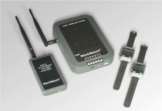腕時計型コミュニケーションシステム「WorkWatch®Alarm」