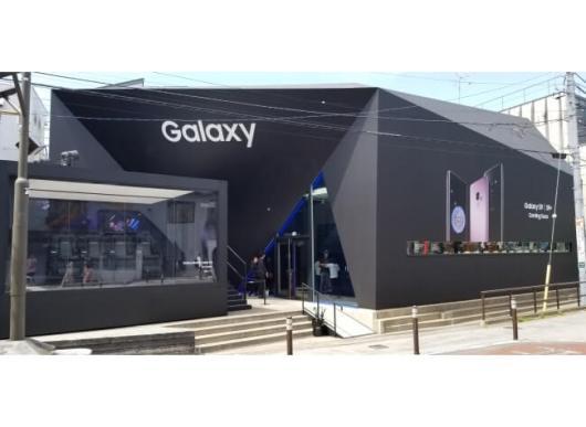 「Galaxy Showcase」がリニューアルオープン