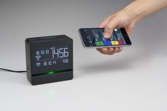 """無線LANでスマートフォンやPCと""""つながる""""デジタル時計スマートプログラムアラーム「リンクタイム」LT10発売"""