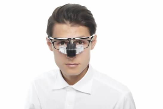 【「オーバーグラス型の製品設計」メガネの上からも着用可能】