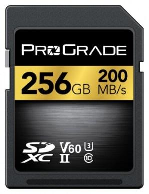 プログレードデジタル SDXC UHS-II V60